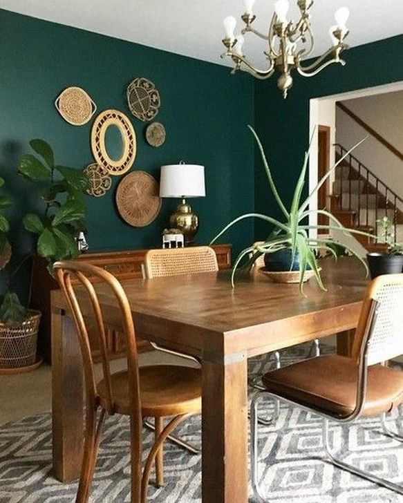 Gorgeous Rustic Dining Room Design Ideas 08