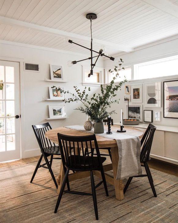 Gorgeous Rustic Dining Room Design Ideas 25