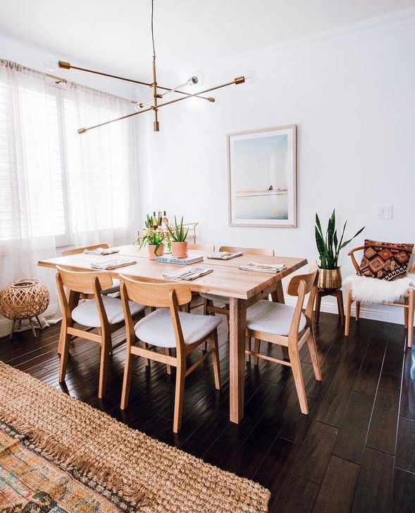 Gorgeous Rustic Dining Room Design Ideas 27