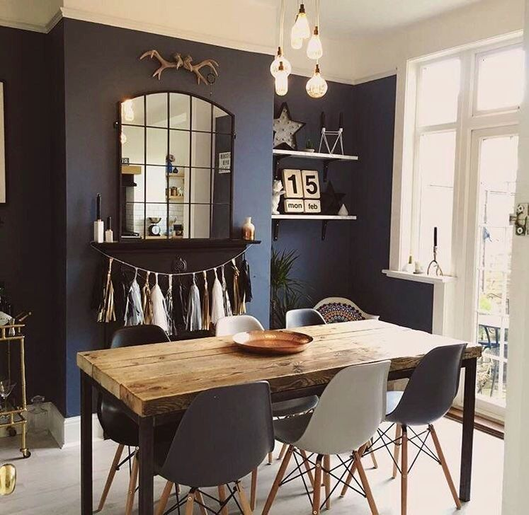 Gorgeous Rustic Dining Room Design Ideas 34