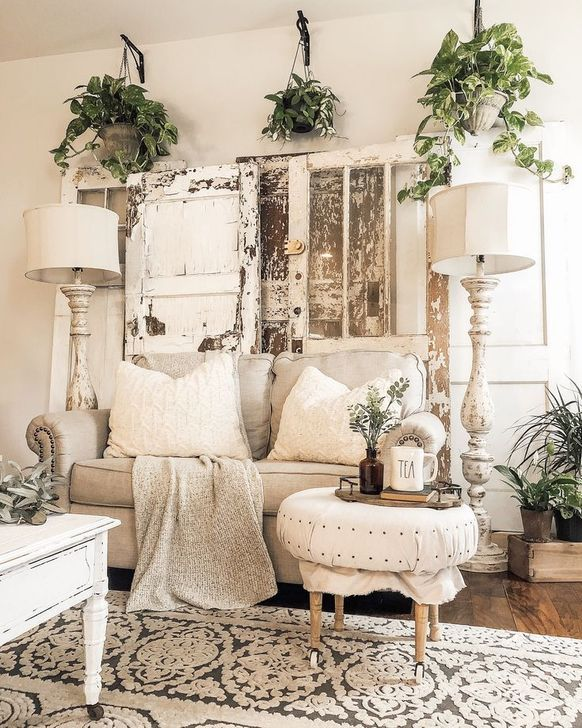 Gorgeous Shabby Chic Living Room Design And Decor Ideas 20
