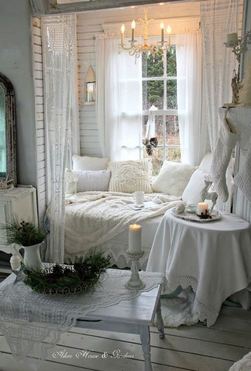 Gorgeous Shabby Chic Living Room Design And Decor Ideas 24