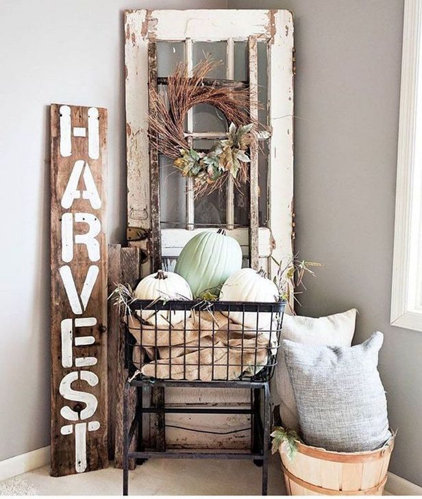 Inspiring Fall Decor Ideas For Your Home Decor 01