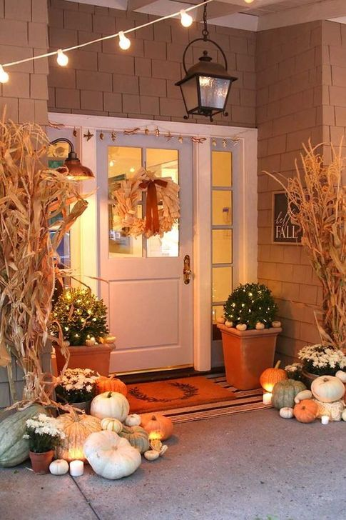 Inspiring Fall Decor Ideas For Your Home Decor 06