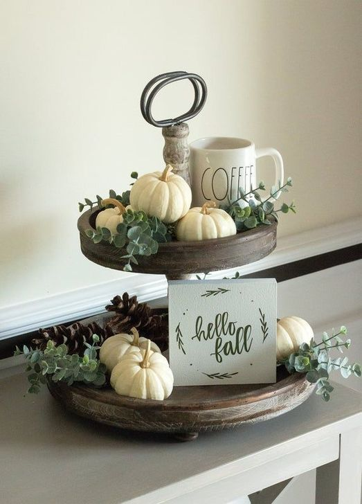 Inspiring Fall Decor Ideas For Your Home Decor 27