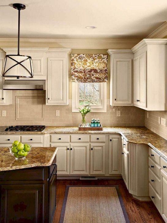 Inspiring Neutral Kitchen Design Ideas 11