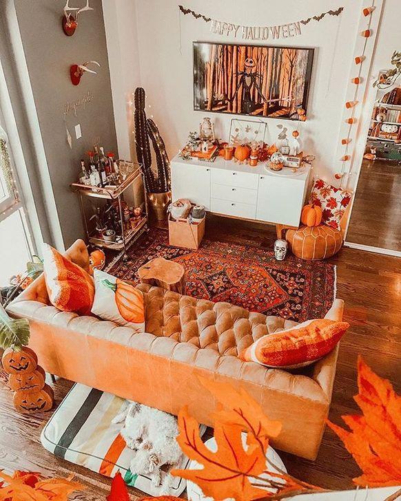 Lovely Fall Bedroom Decor Ideas 34