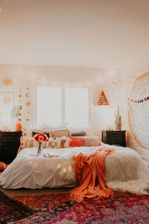 Lovely Fall Bedroom Decor Ideas 35