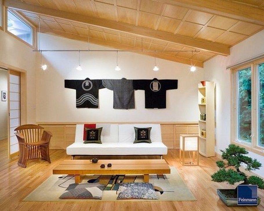 Lovely Japanese Living Room Decor Ideas 03