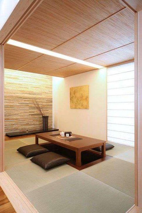 Lovely Japanese Living Room Decor Ideas 04