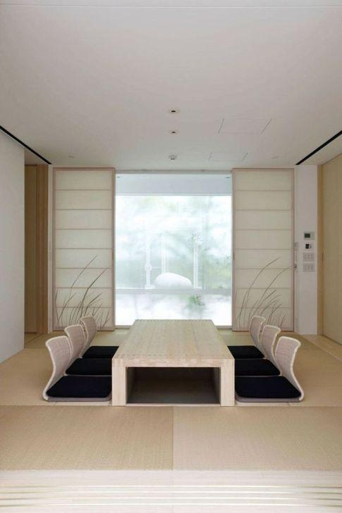 Lovely Japanese Living Room Decor Ideas 18