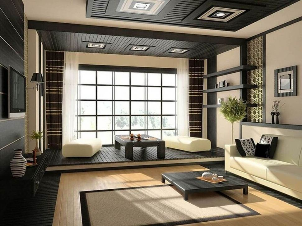 Lovely Japanese Living Room Decor Ideas 21