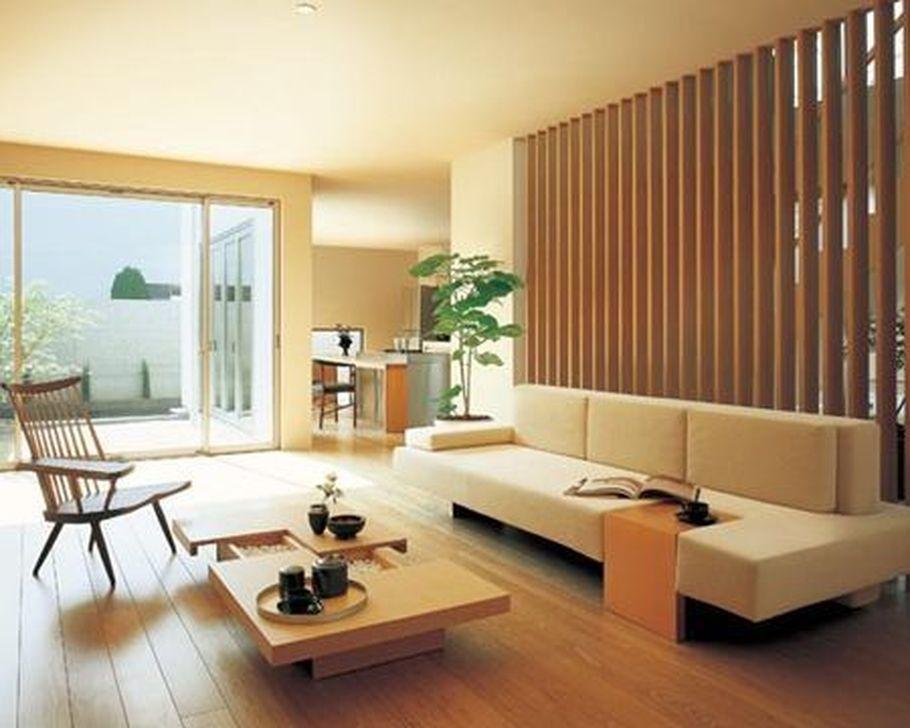 Lovely Japanese Living Room Decor Ideas 25