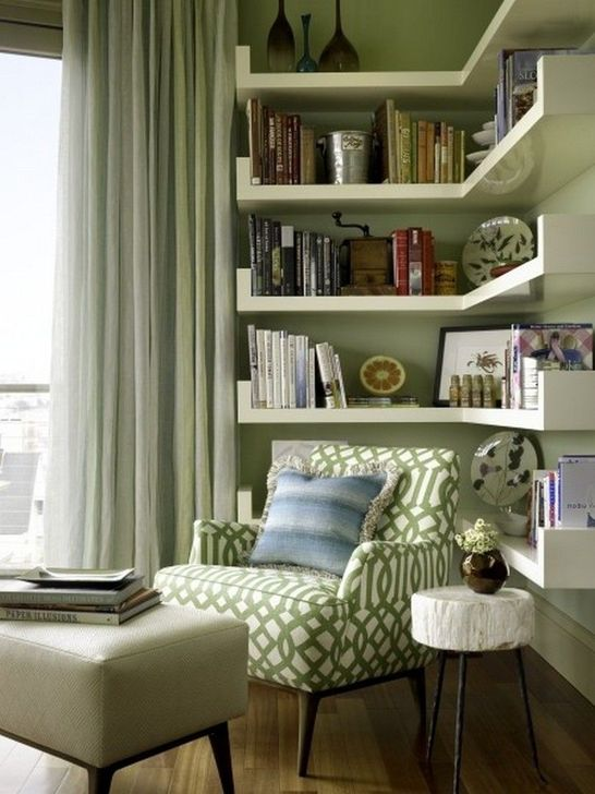 Stunning Bookshelves Design Ideas For Your Living Room Decoration 02