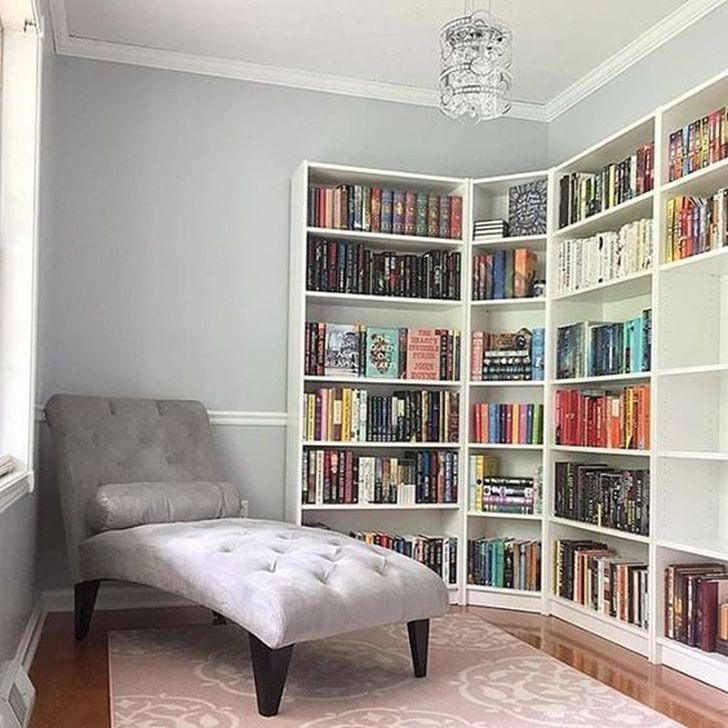 Stunning Bookshelves Design Ideas For Your Living Room Decoration 13