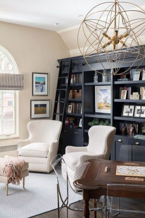 Stunning Bookshelves Design Ideas For Your Living Room Decoration 36