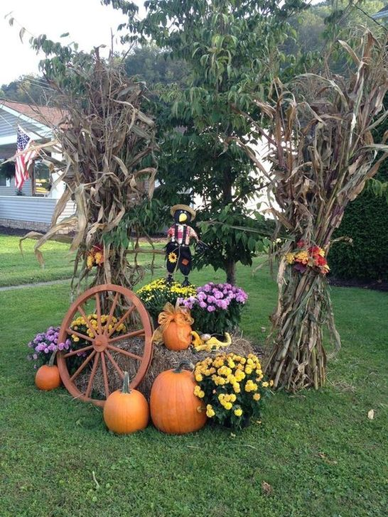 The Best Fall Outdoor Decor Ideas You Will Like 20