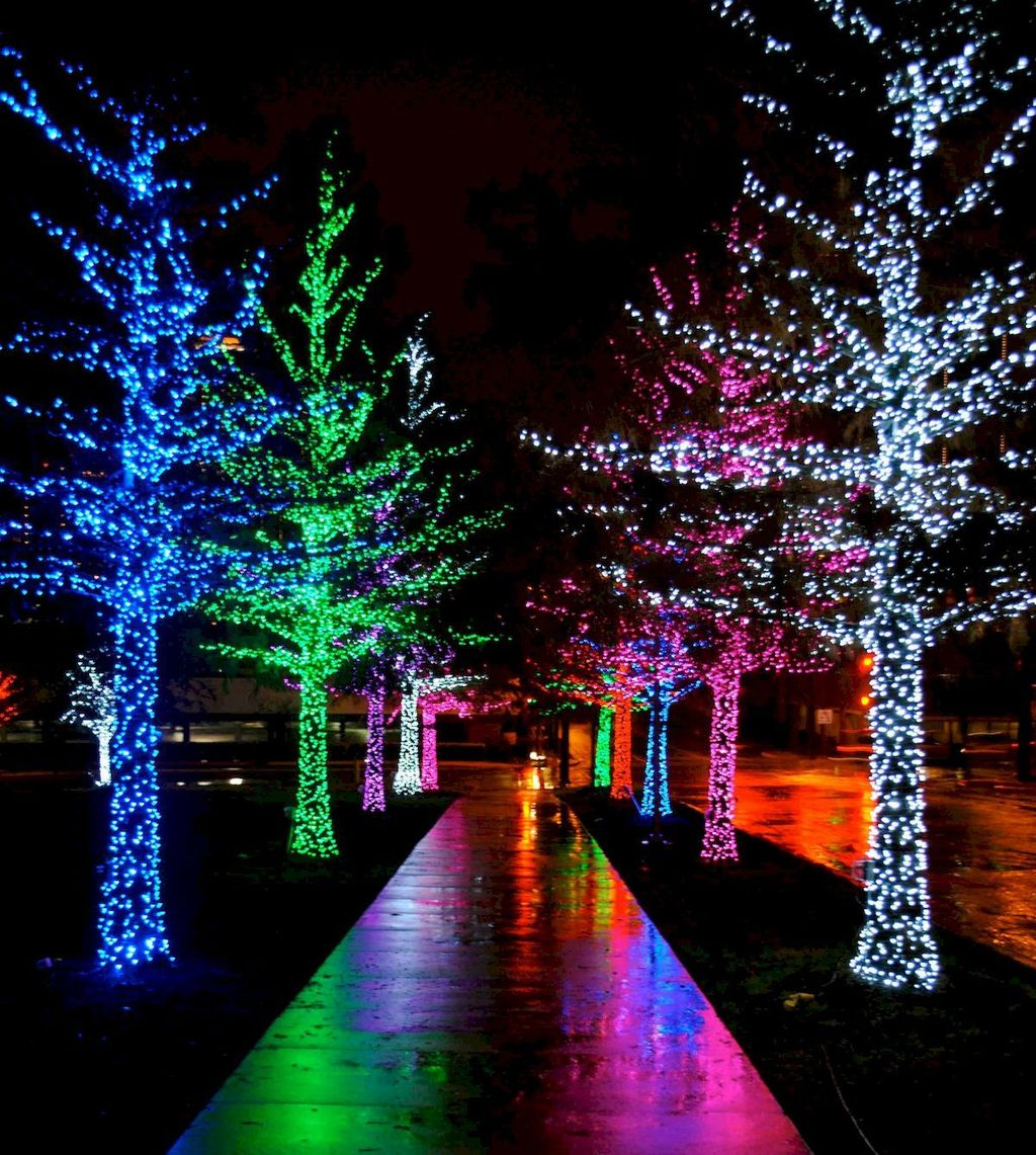 Awesome Christmas Lights Ideas For Exterior Decoration 03