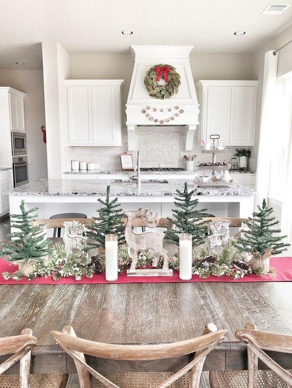 Awesome Christmas Theme Kitchen Decor Ideas 32