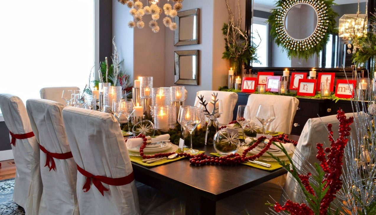Beautiful Christmas Dining Room Decor Ideas You Never Seen Before 10