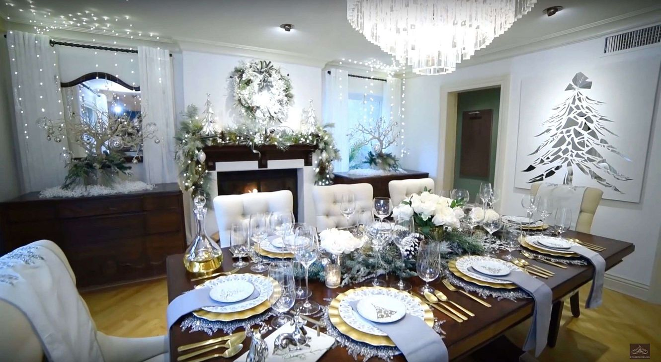 Beautiful Christmas Dining Room Decor Ideas You Never Seen Before 22