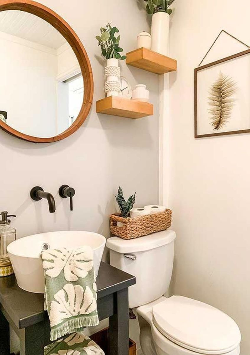 Lovely Winter Bathroom Colors 17
