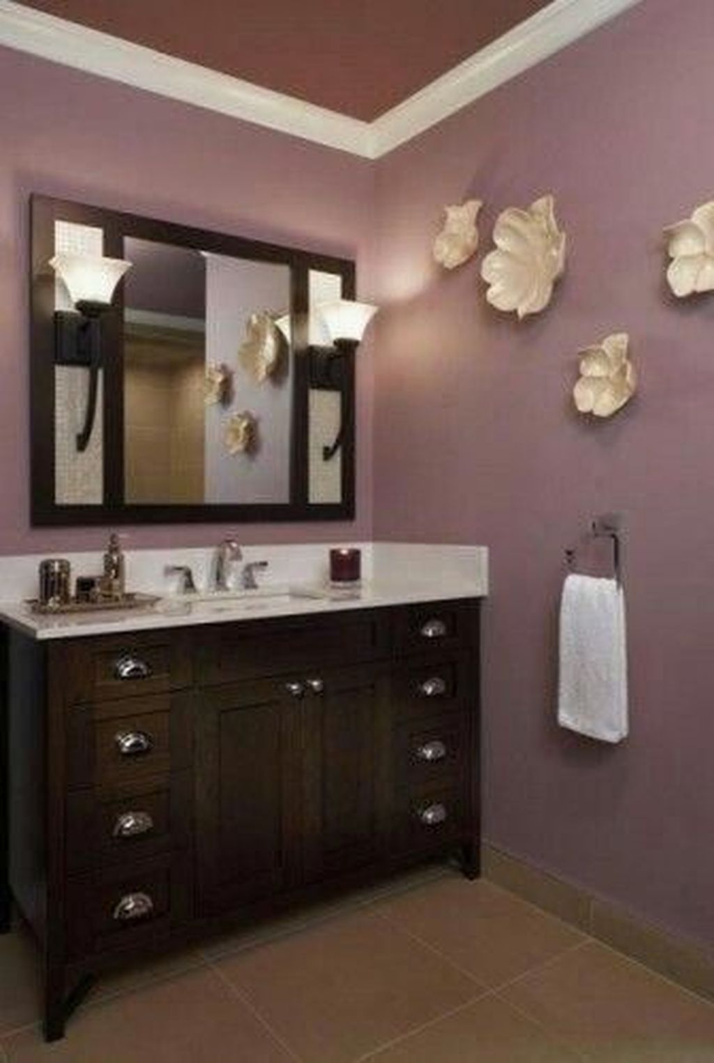 Lovely Winter Bathroom Colors 18