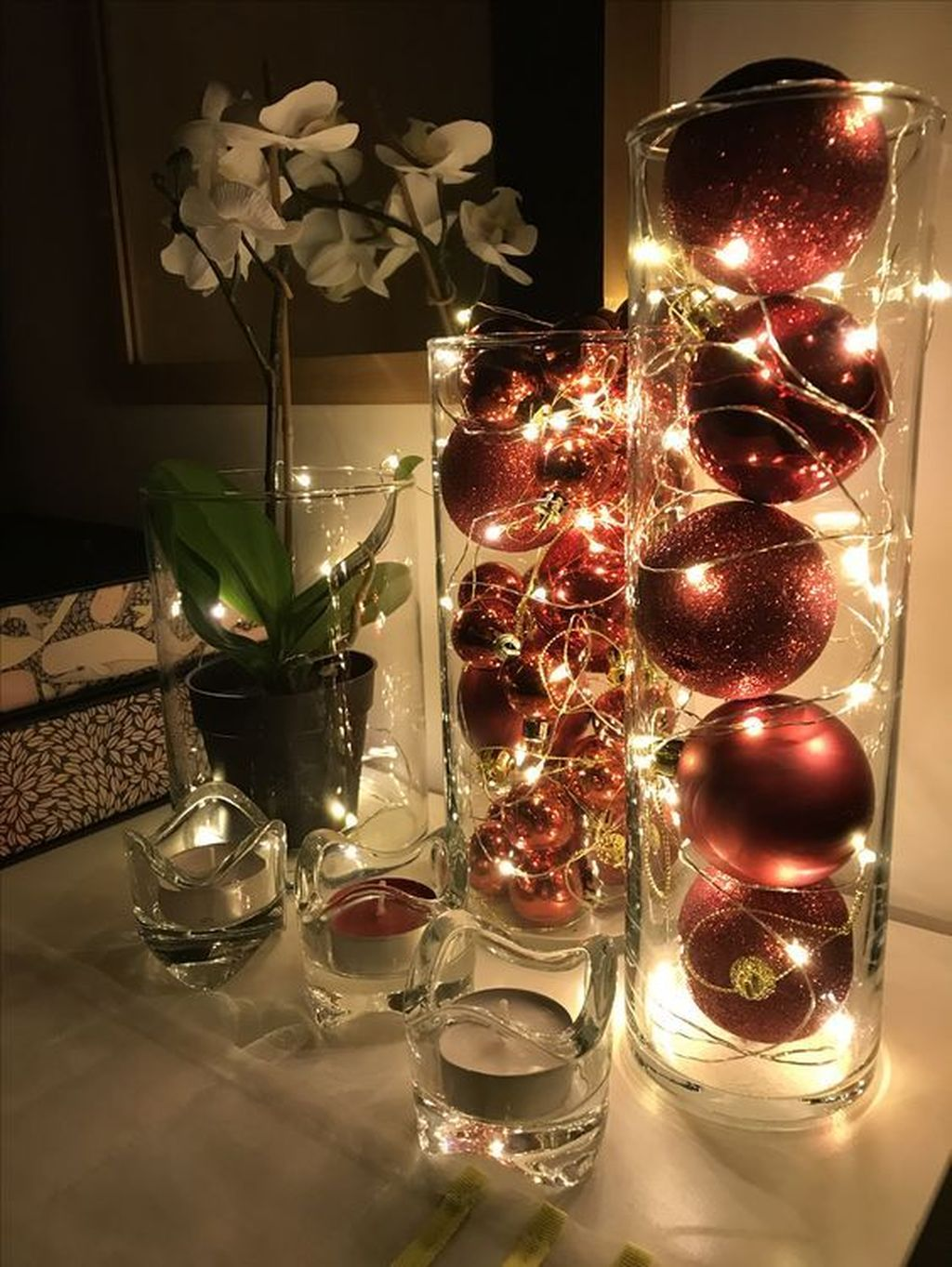 Nice Christmas Decoration Ideas For Apartment 11