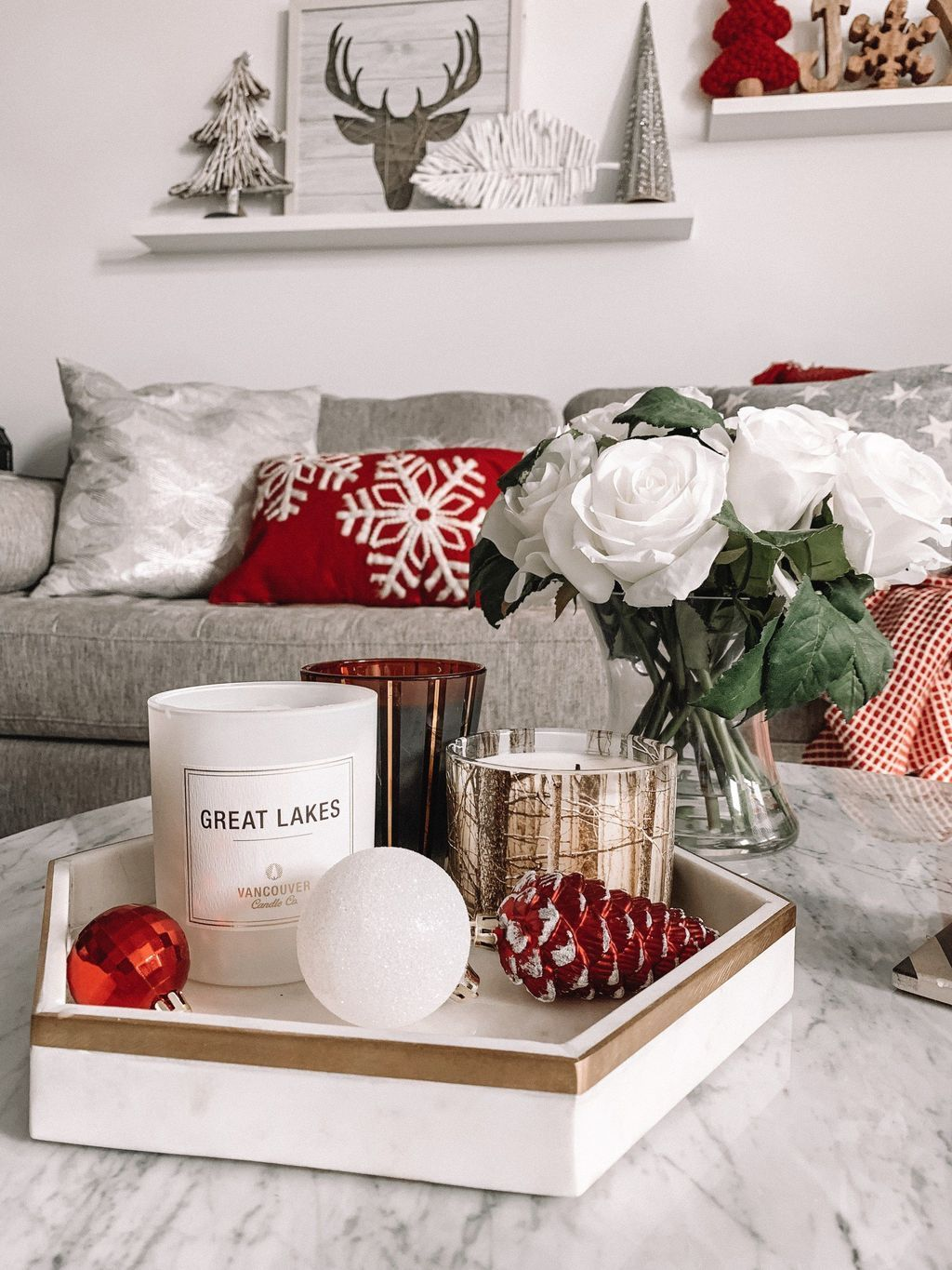 Nice Christmas Decoration Ideas For Apartment 28