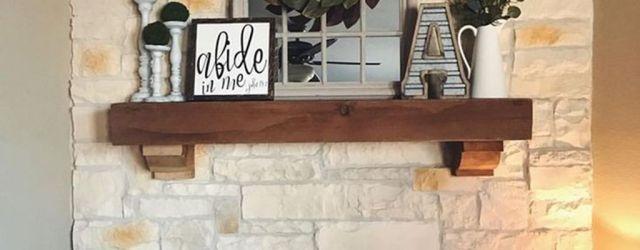 Stunning Fireplace Mantel Decor Ideas You Should Copy Now 32
