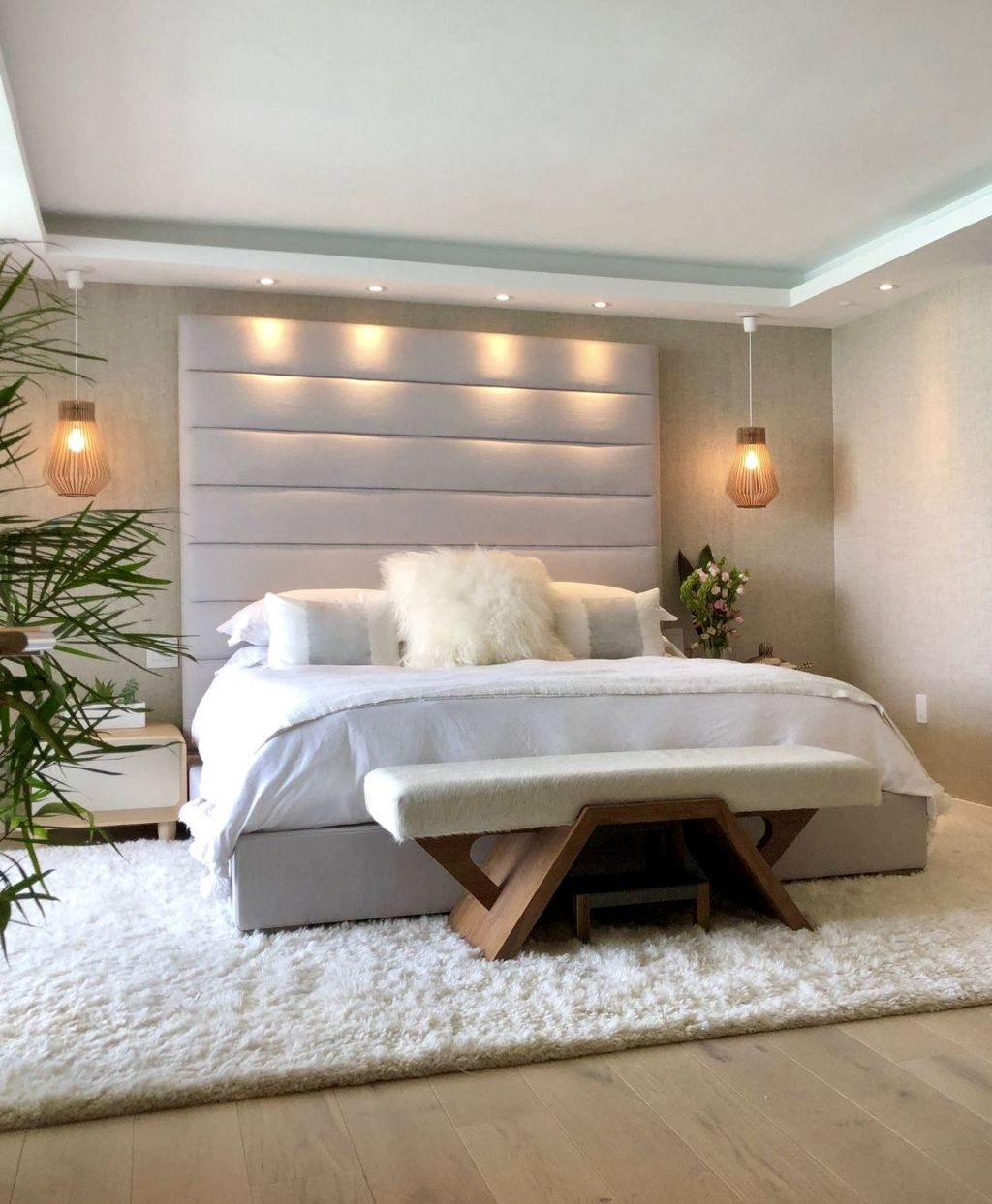Awesome Romantic Bedroom Lighting Ideas You Will Love 21