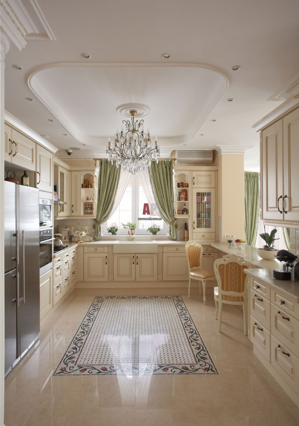 Lovely Romantic Kitchen Decorating Ideas 12