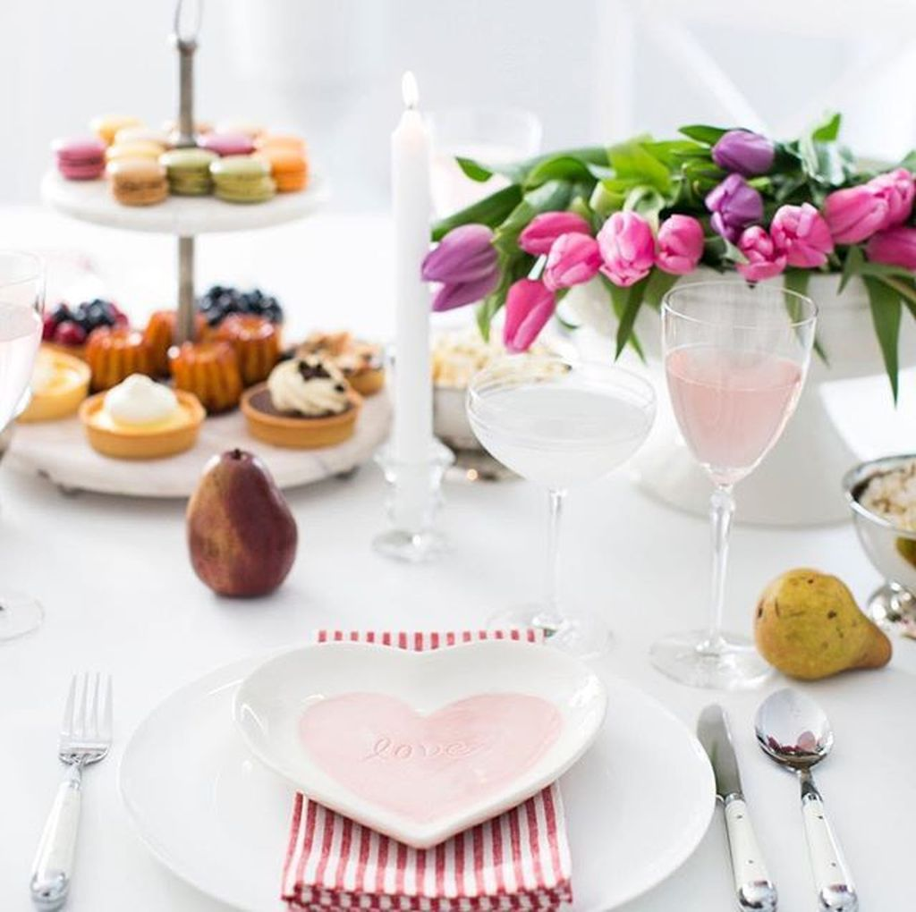 Lovely Romantic Table Setting For Two Best Valentines Day Ideas 13