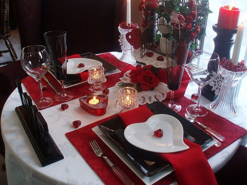Lovely Romantic Table Setting For Two Best Valentines Day Ideas 30