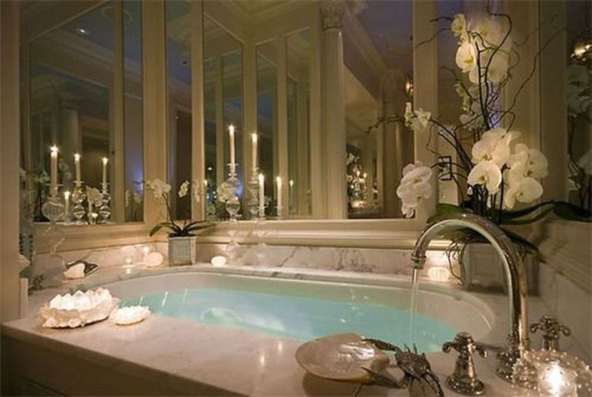The Best Romantic Bathroom Ideas Perfect For Valentines Day 35