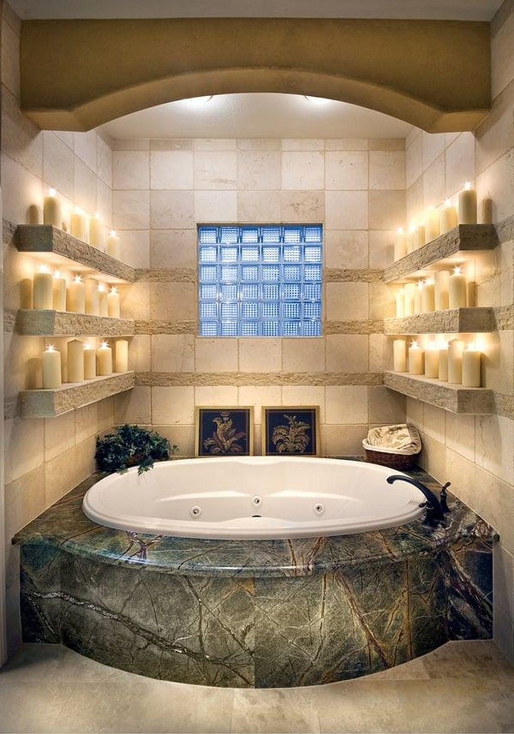 38 The Best Romantic Bathroom Ideas Perfect For Valentine ...