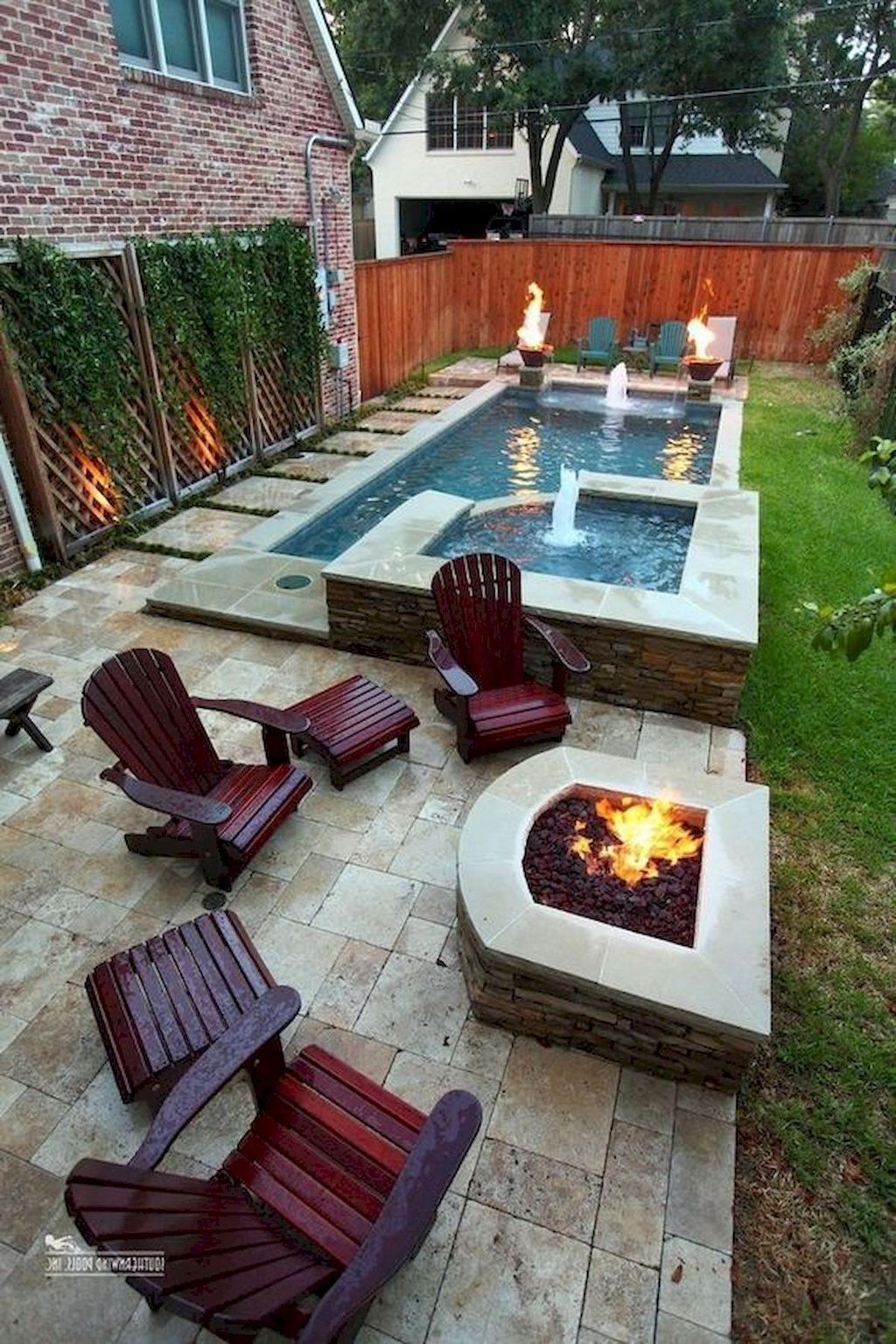 Beautiful Small Pool Backyard Landscaping Ideas Best For Spring And Summertime 03