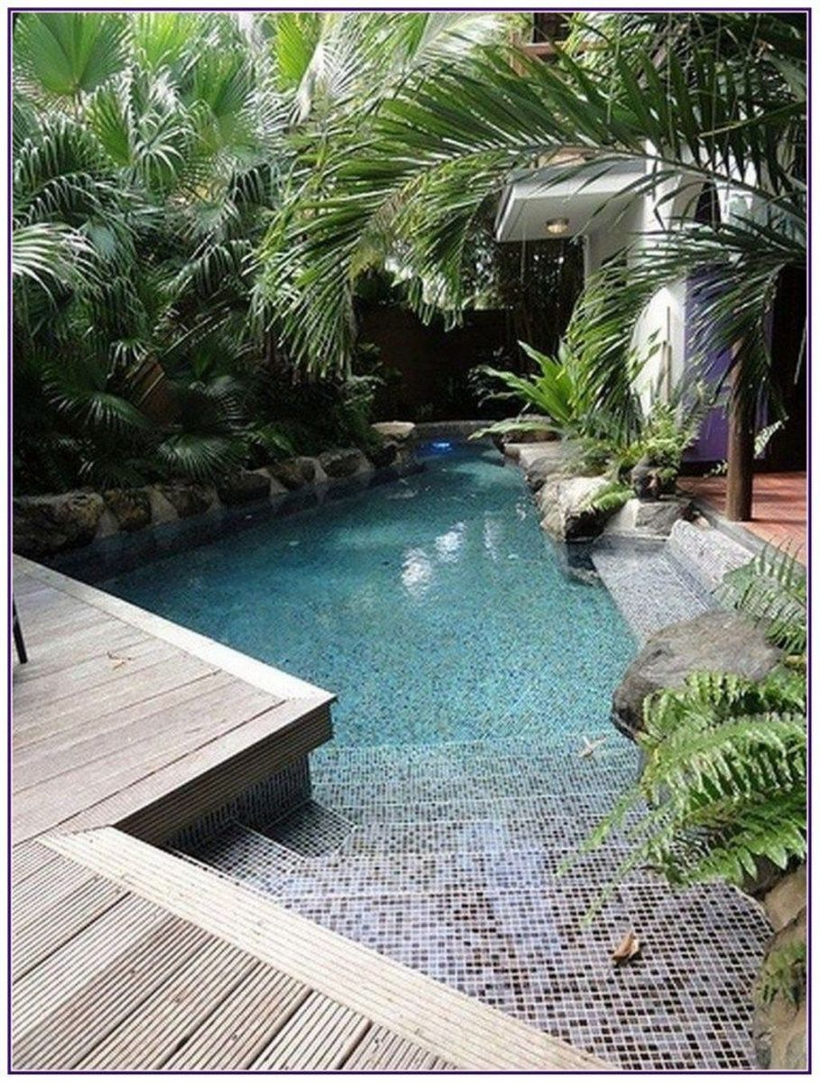 Beautiful Small Pool Backyard Landscaping Ideas Best For Spring And Summertime 12