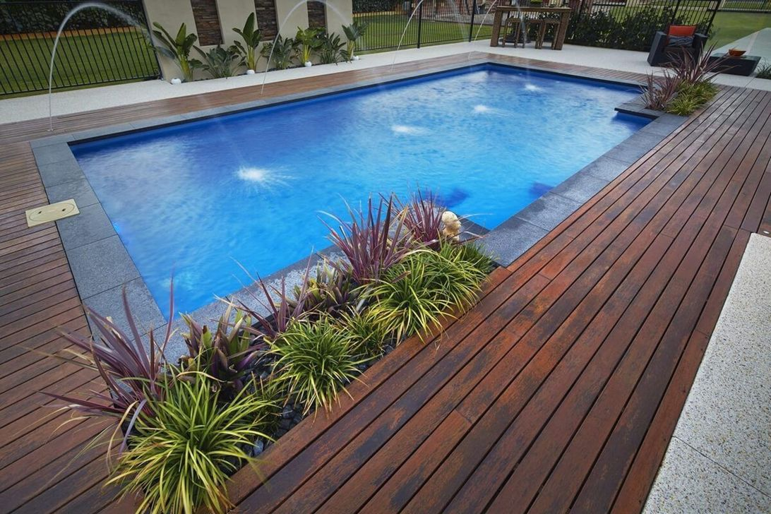 Beautiful Small Pool Backyard Landscaping Ideas Best For Spring And Summertime 22