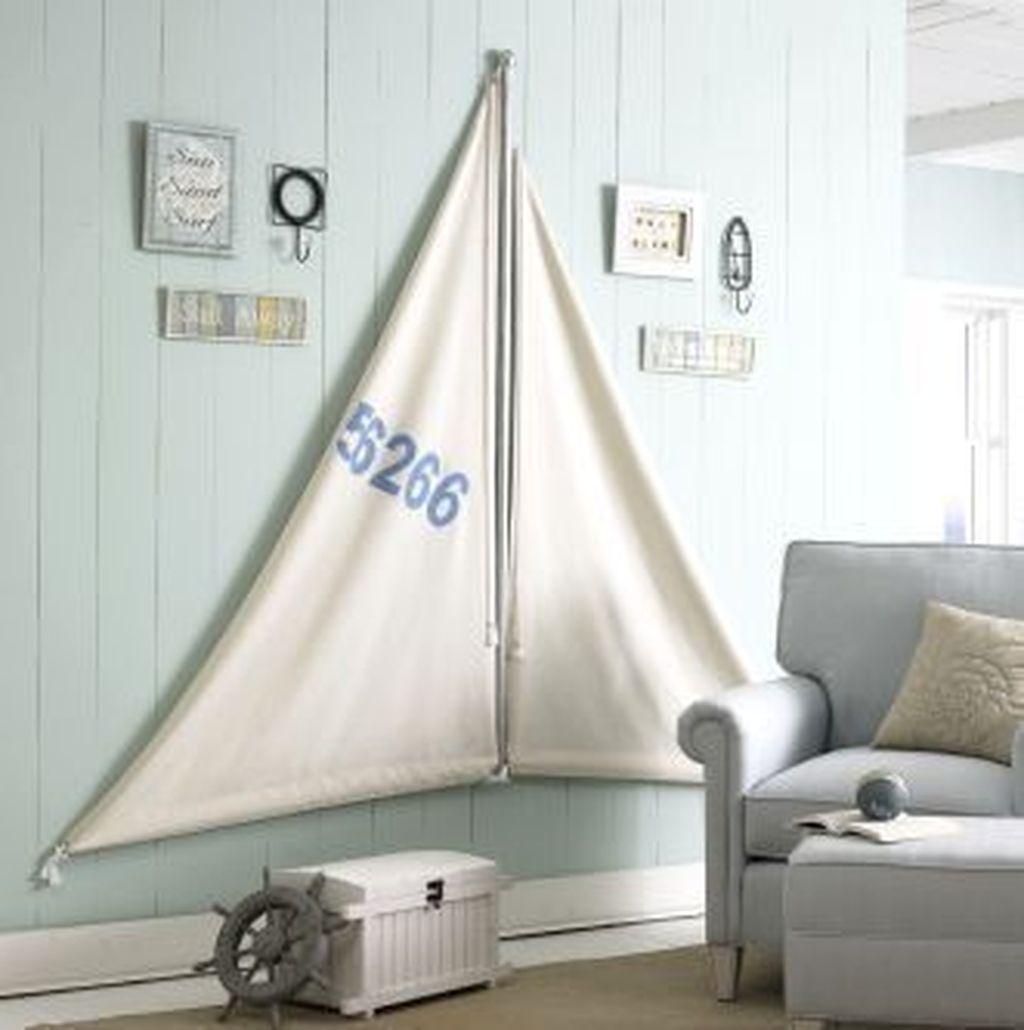 Inspiring Nautical Wall Decor Ideas For Living Room 07
