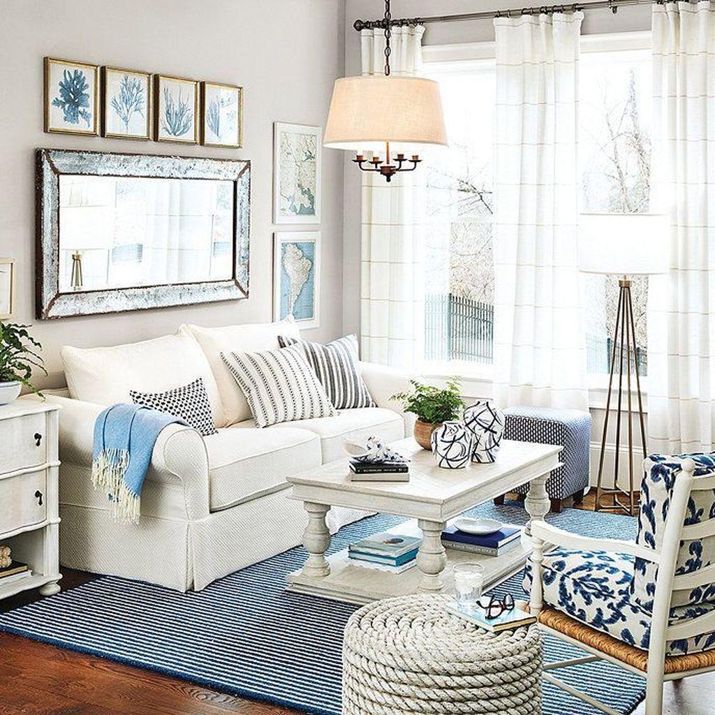 Inspiring Nautical Wall Decor Ideas For Living Room 13