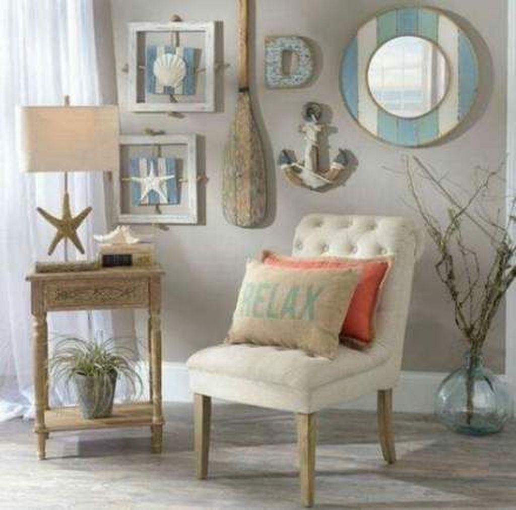 Inspiring Nautical Wall Decor Ideas For Living Room 21