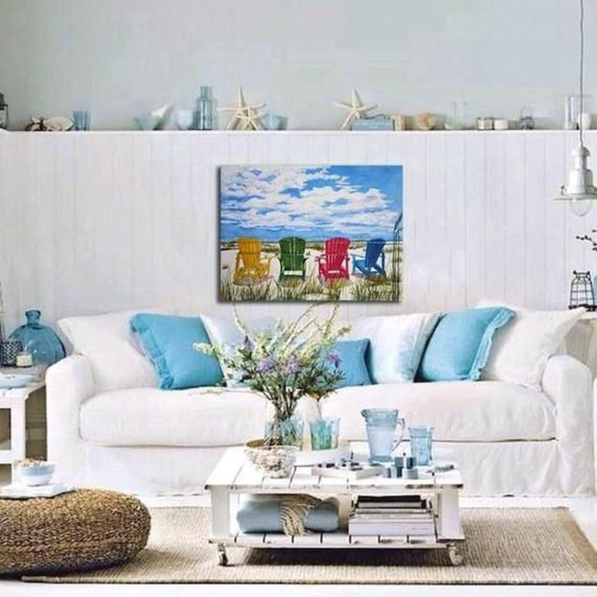 Inspiring Nautical Wall Decor Ideas For Living Room 35