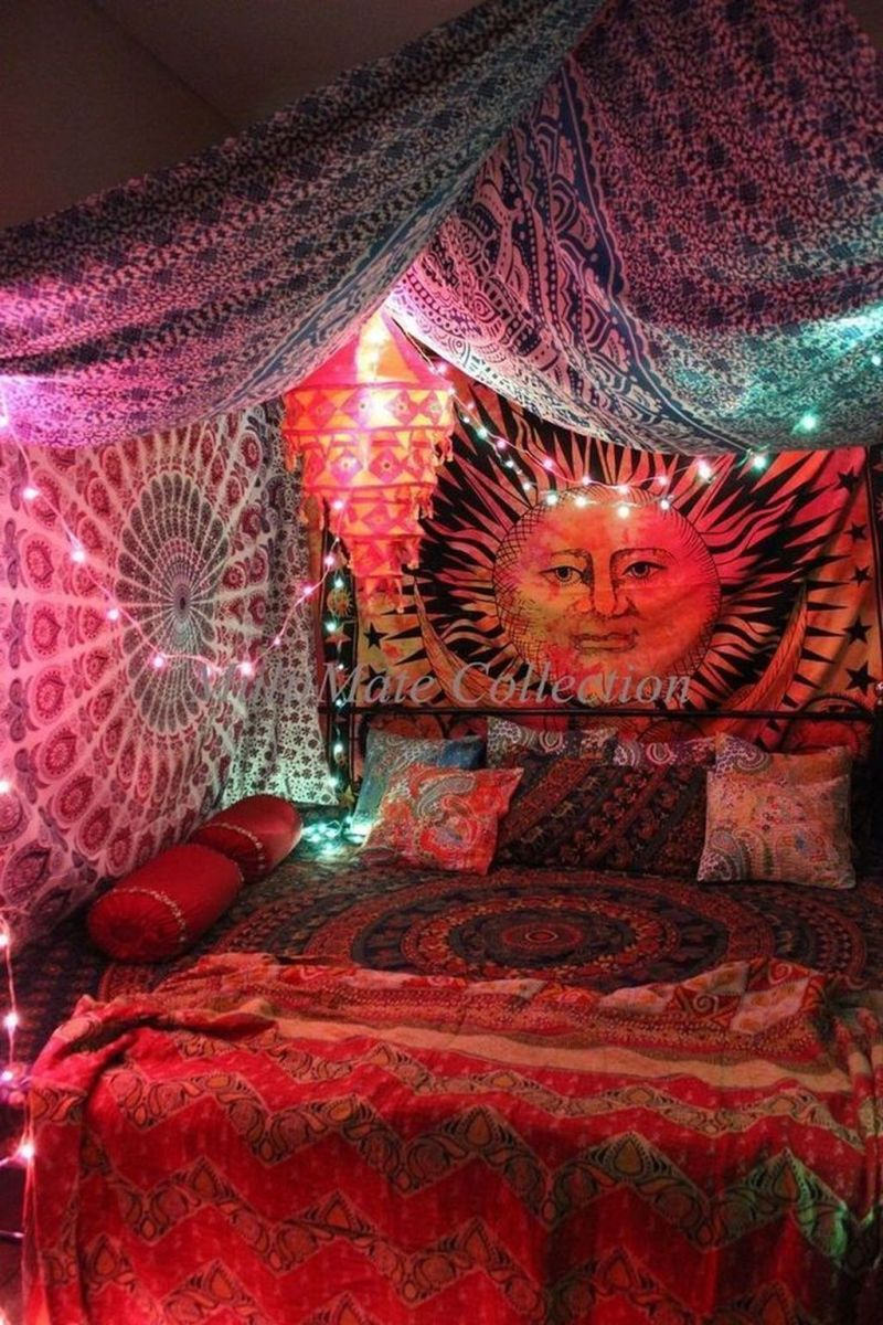 Stunning Hippie Room Decor Ideas You Never Seen Before 18