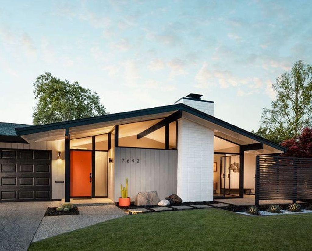 Admirable Mid Century Modern House Design Ideas 04