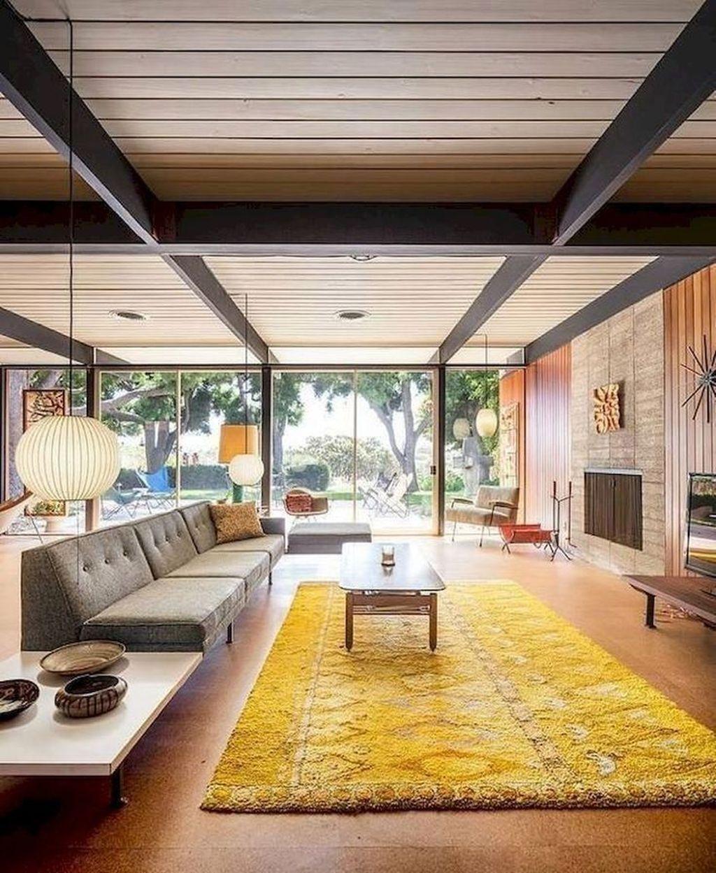 Admirable Mid Century Modern House Design Ideas 20