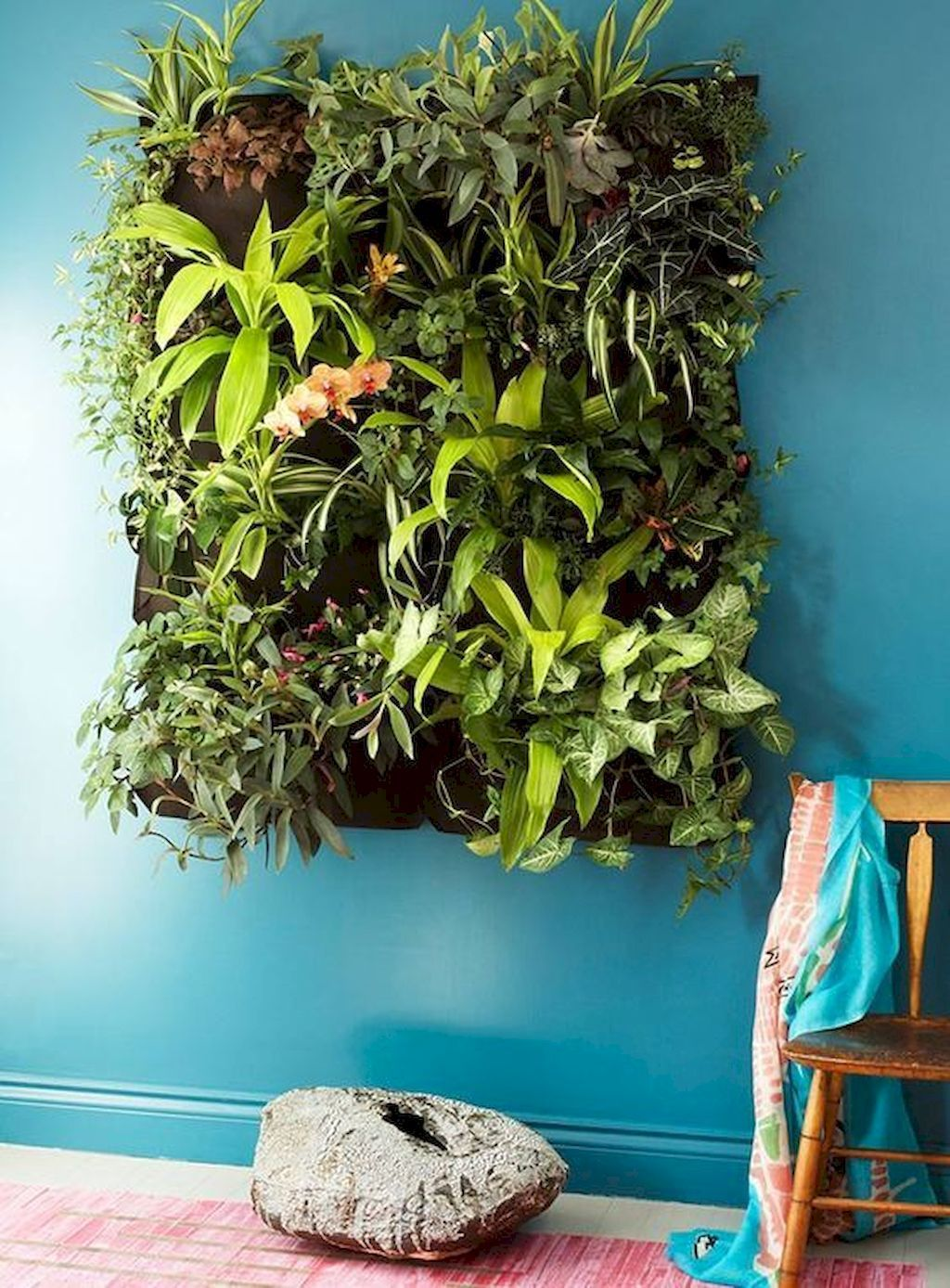 Amazing Living Wall Indoor Decoration Ideas 07