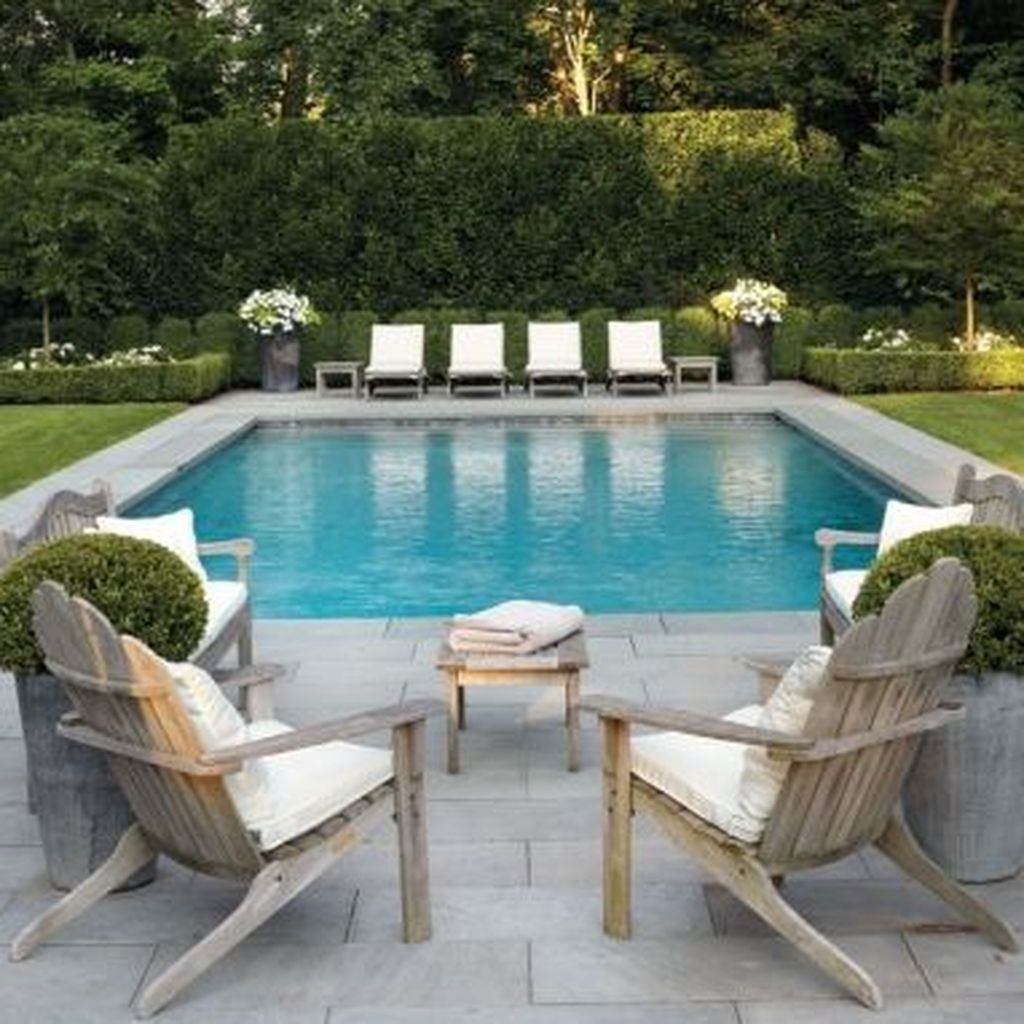 Amazing Pool Seating Ideas Which Are Very Comfortable 17
