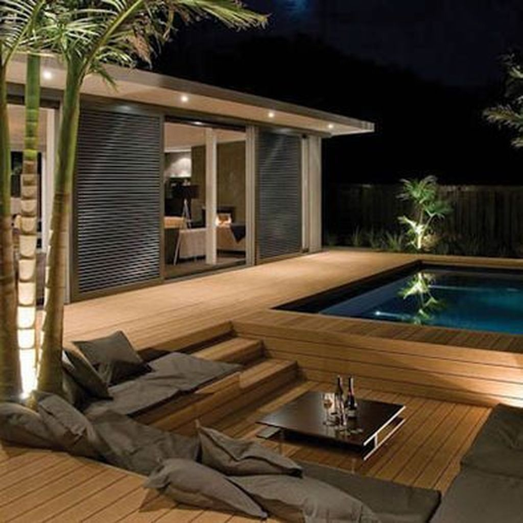 Amazing Pool Seating Ideas Which Are Very Comfortable 18