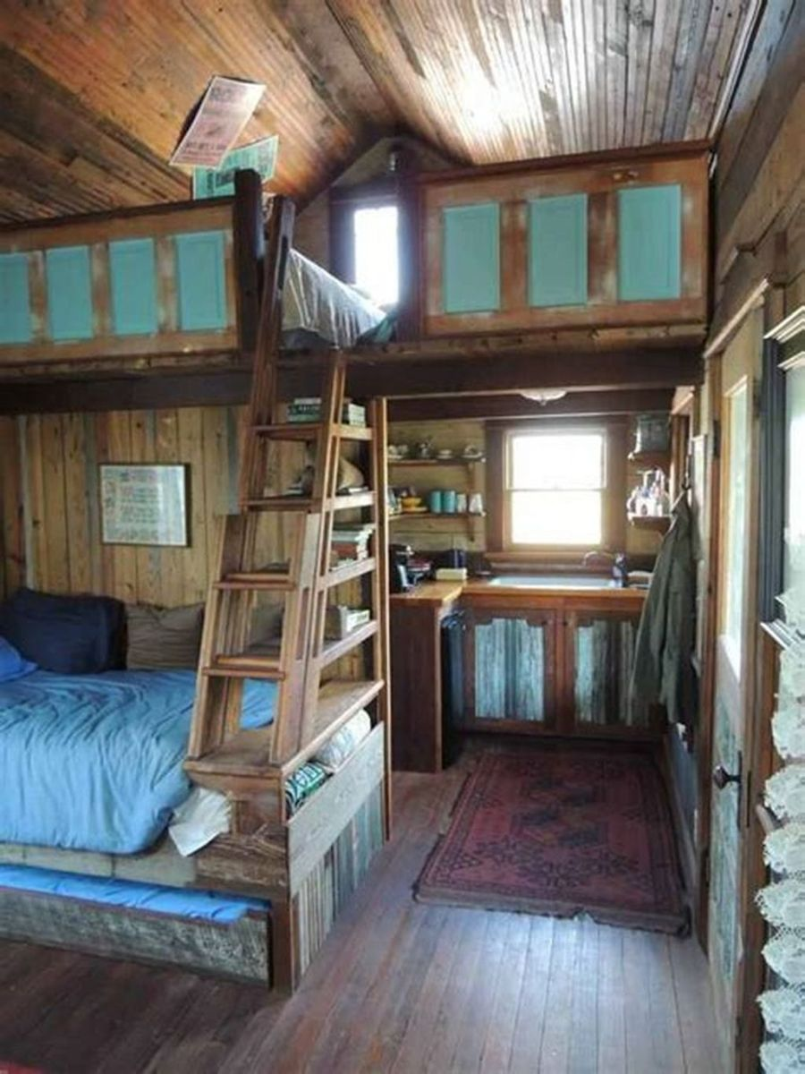 Amazing Rustic Tiny House Design Ideas 05